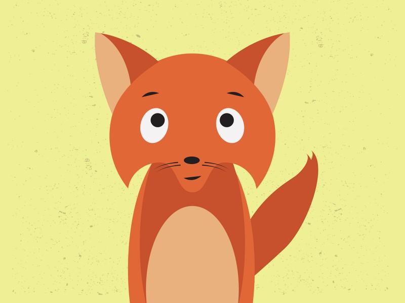 lisica ilustracija