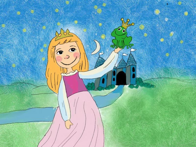 princ žaba